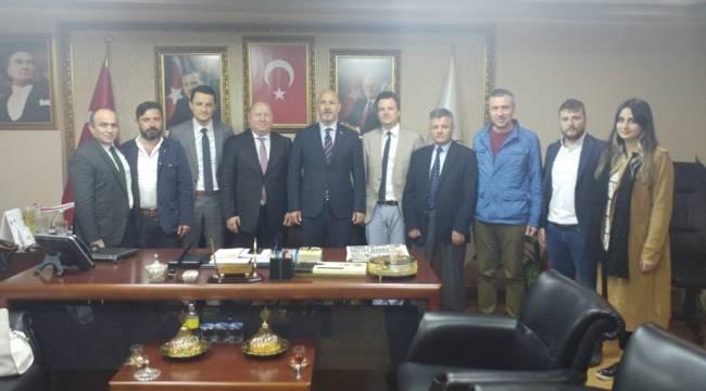 Balkan Türklerinden İl Başkanı Hakan Karaduman'a ziyaret