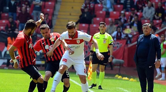 Eskişehirspor: 5 - Samsunspor: 0
