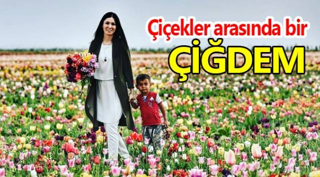 Karaaslan'dan çiçekler arasında özel fotoğraflar