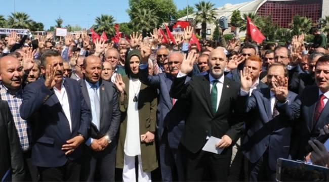 AK Parti 'İşgale Karşı Ses Ver'di