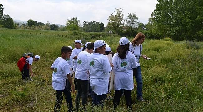 Lider çocuklar tarımla buluştu