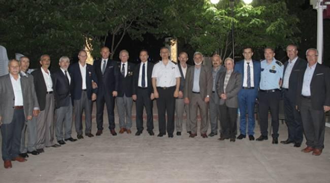 Tekkeköy Belediyesi şehit yakınları ve gazilerle ile iftarda buluştu