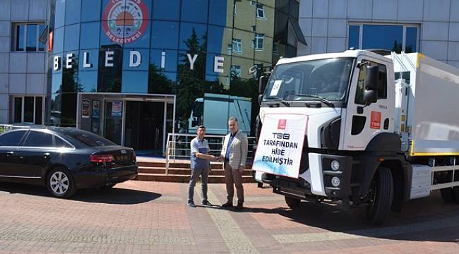 19 Mayıs Belediyesi'ne yeni çöp aracı