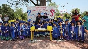 Atakum Belediyesi Kreşi'nde mezuniyet coşkusu