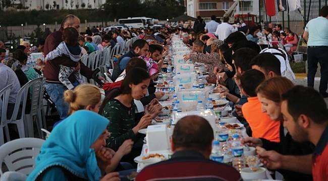 Atakum'da iftar buluşmalarına yoğun ilgi