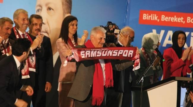 Başbakan Yıldırım Samsun'da