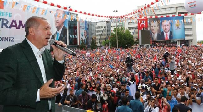Erdoğan'dan Samsun'a yatırım müjdesi