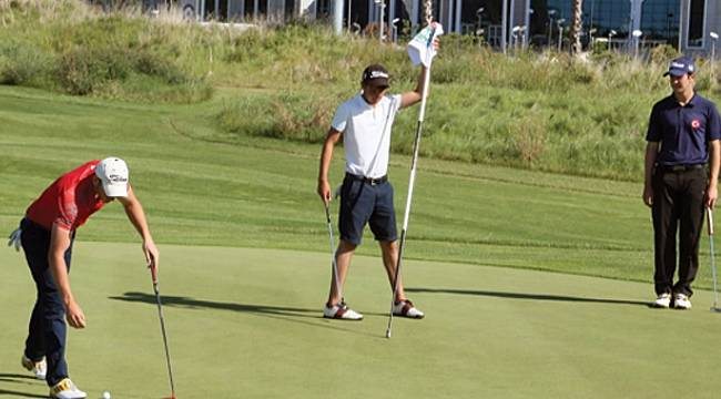 Golfun şampiyonları belli oldu