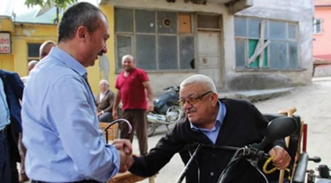 Kırcalı'dan engellilere yaşam merkezi müjdesi