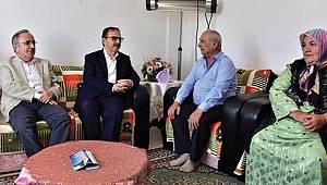 Şahin şehit Artut'un ailesini ziyaret etti