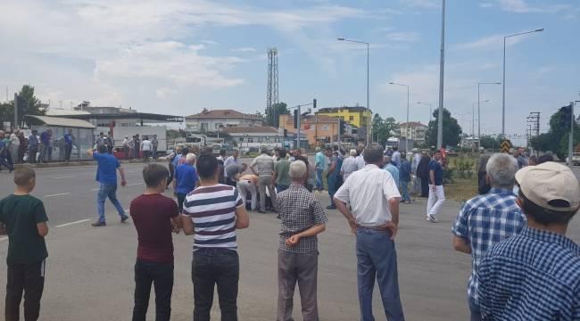 Samsun'da minibüsün çarptığı kişi adam öldü