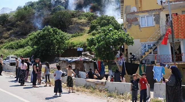 Samsun'daki yangın korkuttu