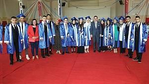 Samsun Piri Reis MTAL'da mezuniyet coşkusu