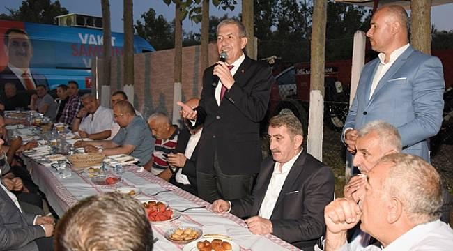 Tekkeköy'de birlik ve beraberlik iftarları