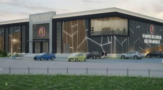 19 Mayıs'a 6 milyonluk kültür merkezi