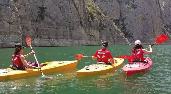 Ankentspor kano takımı Tokat'ta kürek çekecek