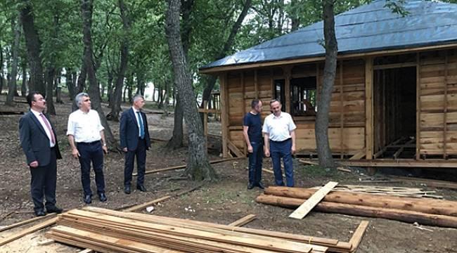 Atakum'da Kent Ormanı piknikçilere açılıyor
