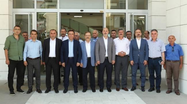 Canik-Büyükşehir istişaresi