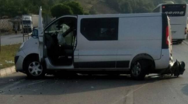 Samsun'da feci kaza 2 ölü, 9 yaralı