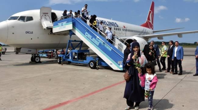 THY'ninSamsun- Kuveyt seferleri başladı