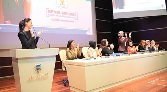 Karaaslan: AK Parti'nin temelinde güçlü kadın var