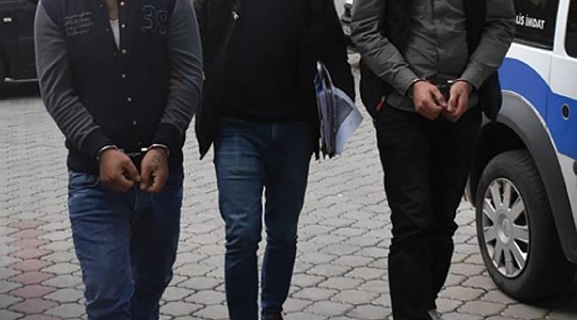 Silahlı saldırganlar tutuklandı