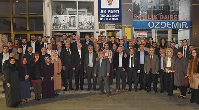 AK Parti İl ve İlçe Teşkilatı'ndan vefa ziyaretleri