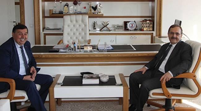 Büyükşehir Belediye Başkanı Şahin'den Havza'ya ziyaret
