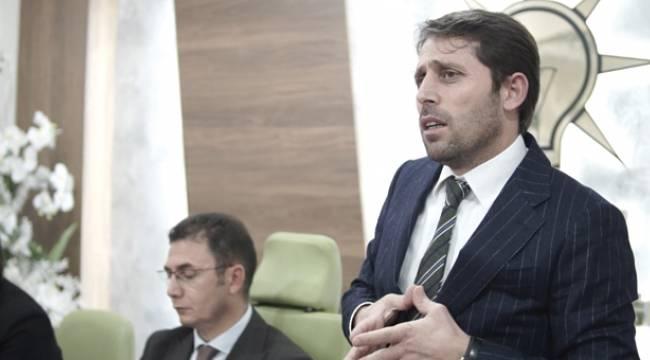 Mustafa Yeşilyurt teşkilatla buluştu