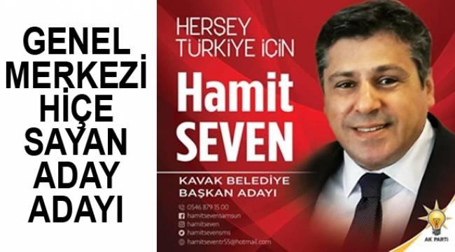 Partiyi hiçe sayan Hamit Seven kendisini aday ilan etti!