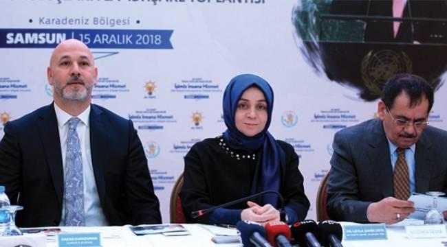 AK Parti Genel Başkan Yardımcısı Usta Samsun'da