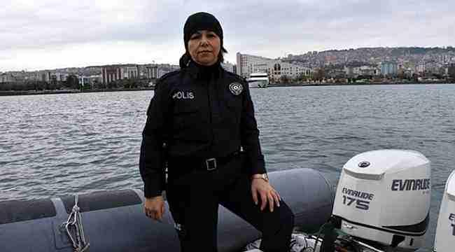 Karadeniz'de asayiş Ayşe Kaptan'tan soruluyor