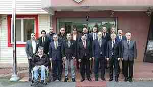Mustafa Demir Samsunspor'u ziyaret etti