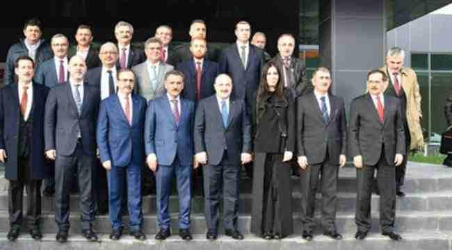 Şahin, Bakan Mustafa Varank'ı ağırladı