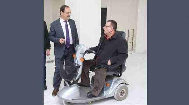 Şahin'den Engelliler Günü mesajı