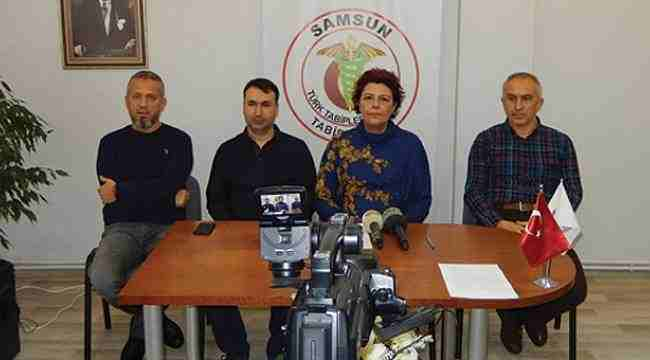 Samsun Tabipler Odası'ndan konsey üyelerine destek
