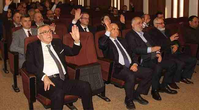 Samsun TSO'da bütçe 8 milyondan 9 milyona çıktı
