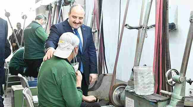 Sanayi ve Teknoloji Bakanı Mustafa VarankSamsun'da