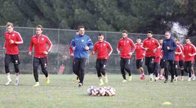Yılport Samsunspor maç saatini beklemeye başladı