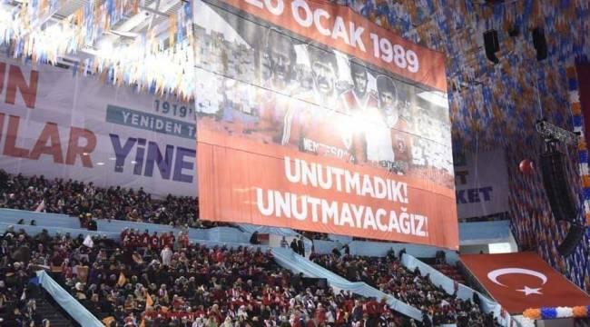 AK Parti Samsunspor'u unutmadı