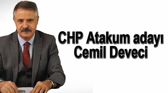 CHP Atakum adayı Cemil Deveci