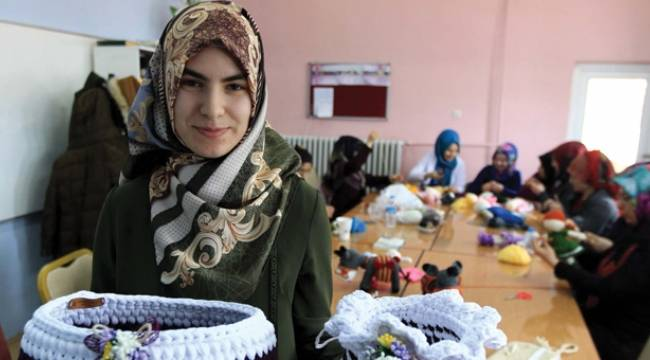 Girişimci kadın yurt dışına üretim yapıyor