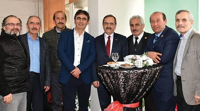 Şahin'den muayenehane açılışı