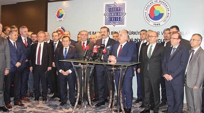 Samsun'da Bankalar Birliği ve özel sektör bir araya geldi
