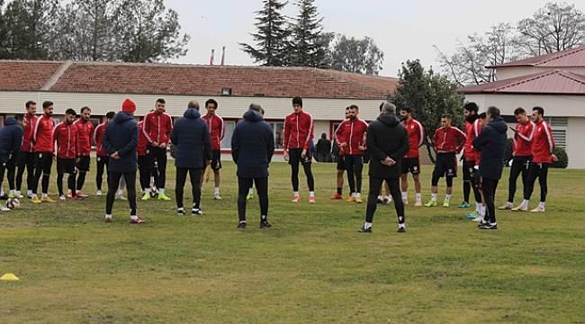 Samsunspor Gümüşhanespor maçına hazırlanıyor