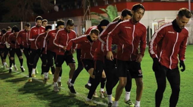 Samsunspor kampa Antalya'da devam edecek