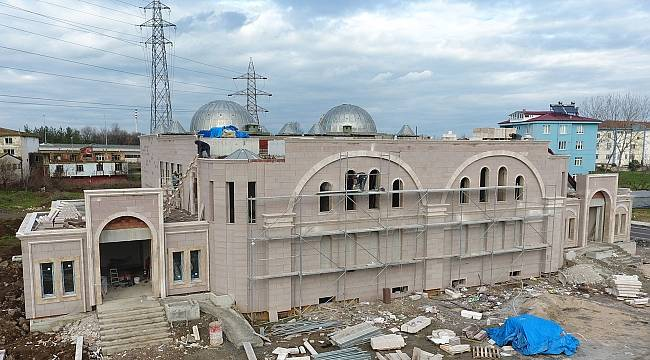 Tekkeköy'de Osmanlı Hamamının Yakında Açılışı Yapılacak