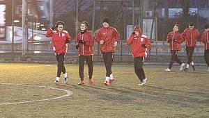 Yılport Samsunspor U16 takımı kuvvet çalıştı