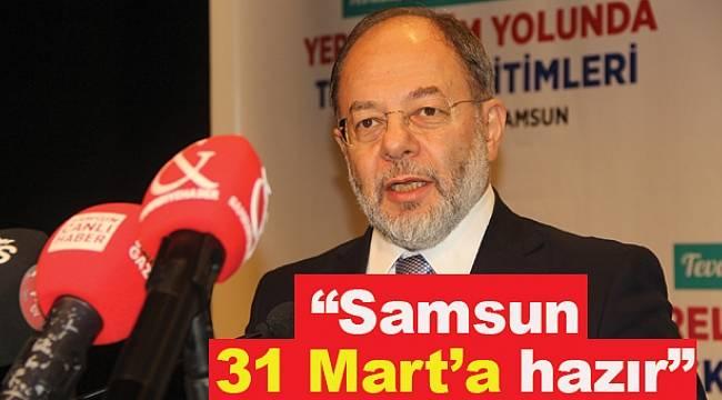 Akdağ Samsun'da AK Partililerle buluştu