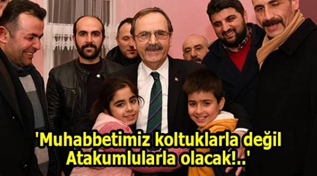 Başkan Zihni Şahin, Çatalçamlılarla buluştu